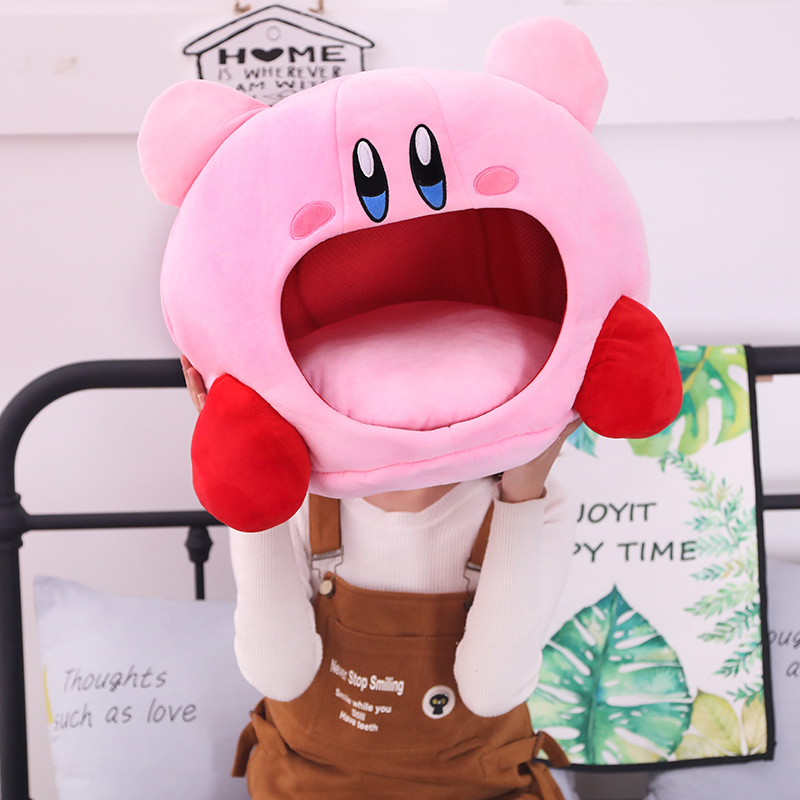 Stuffed Plush Animal Toy Cartoon Headgear Pillow Nap Toys For Kids Or Pet