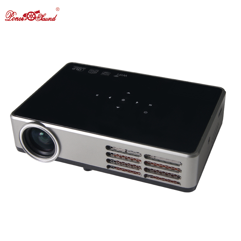Poner Saund Full HD Projector 3000 lumens dlp Mini Smart Android Proyector LCD 3D WIFI Best Home Theater DLP Projektor Beamer poner saund full hd projector 3000 lumens dlp mini smart android proyector lcd 3d wifi best home theater dlp projektor beamer