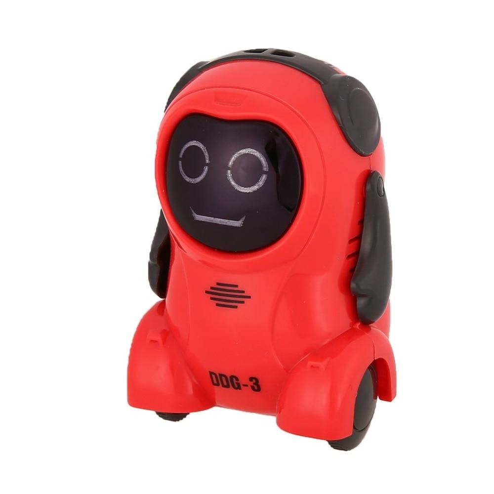 DDG-3 DDG-2  Intelligent Smart Mini Pocket Voice Recording RC Robot Recorder Freely Wheeling 360 Rotation Arm Toys for Kids Gift 18