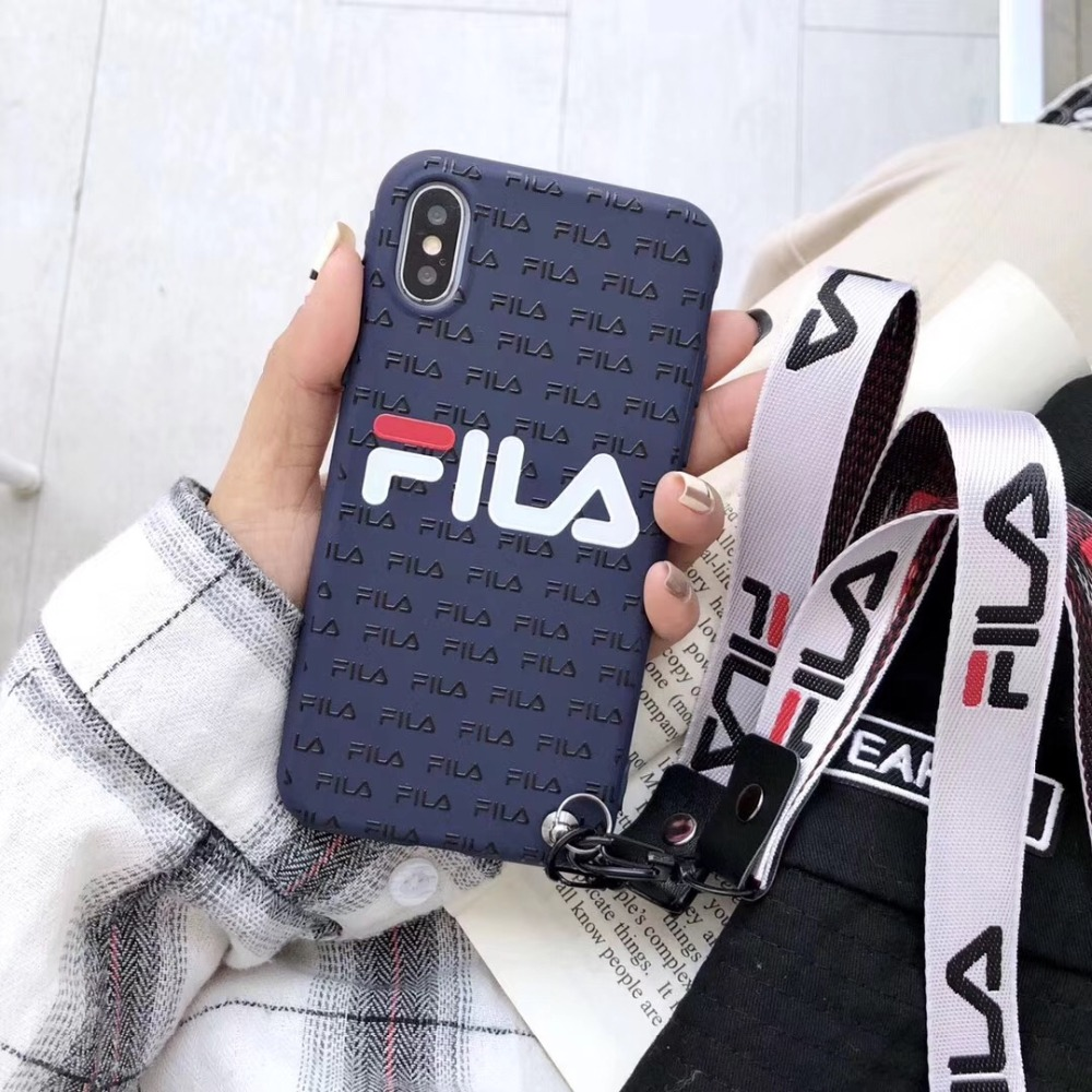 dfa910175cd Luxury Italy sports with 2 lanyard case cover for iphone 7 8 6 6 s plus x  xs max
