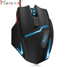 Reliable 7buttons gaming mouse 7200 DPI LED Optical Wired Gaming Game Mice Mouse For Laptop PC
