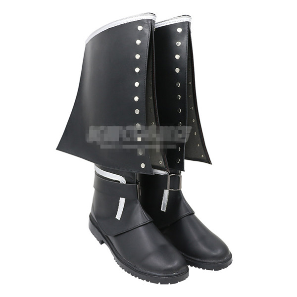 Jacob Frye Hot Game Cosplay Shoes Black PU Artificial leather Custom Made Cos Boots A