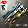 2017 New Knife Butterfly In Knife Training Knife Balisong Karambit Folding Knife Pocket Camping Tactical Knife