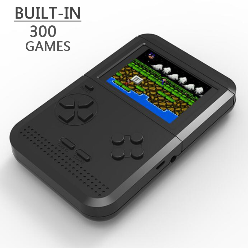 Retro Handheld Game Console Portable Mini Handheld Game Players Built-in 300 Classic Games Best Gift For Kids