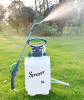5L 8L Lawn and Garden Sprayer Long Nozzle Pump Type Large Capacity Garden Flower Plant Herbicides Pesticide Watering Supply Tool