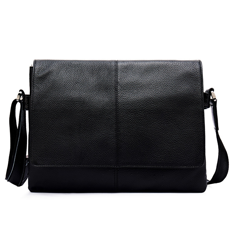 Joyir Genuine Leather Messenger Bag Men Shoulder bag KoreanTide and cool demeanor male Crossbody bags simple flip men's bags