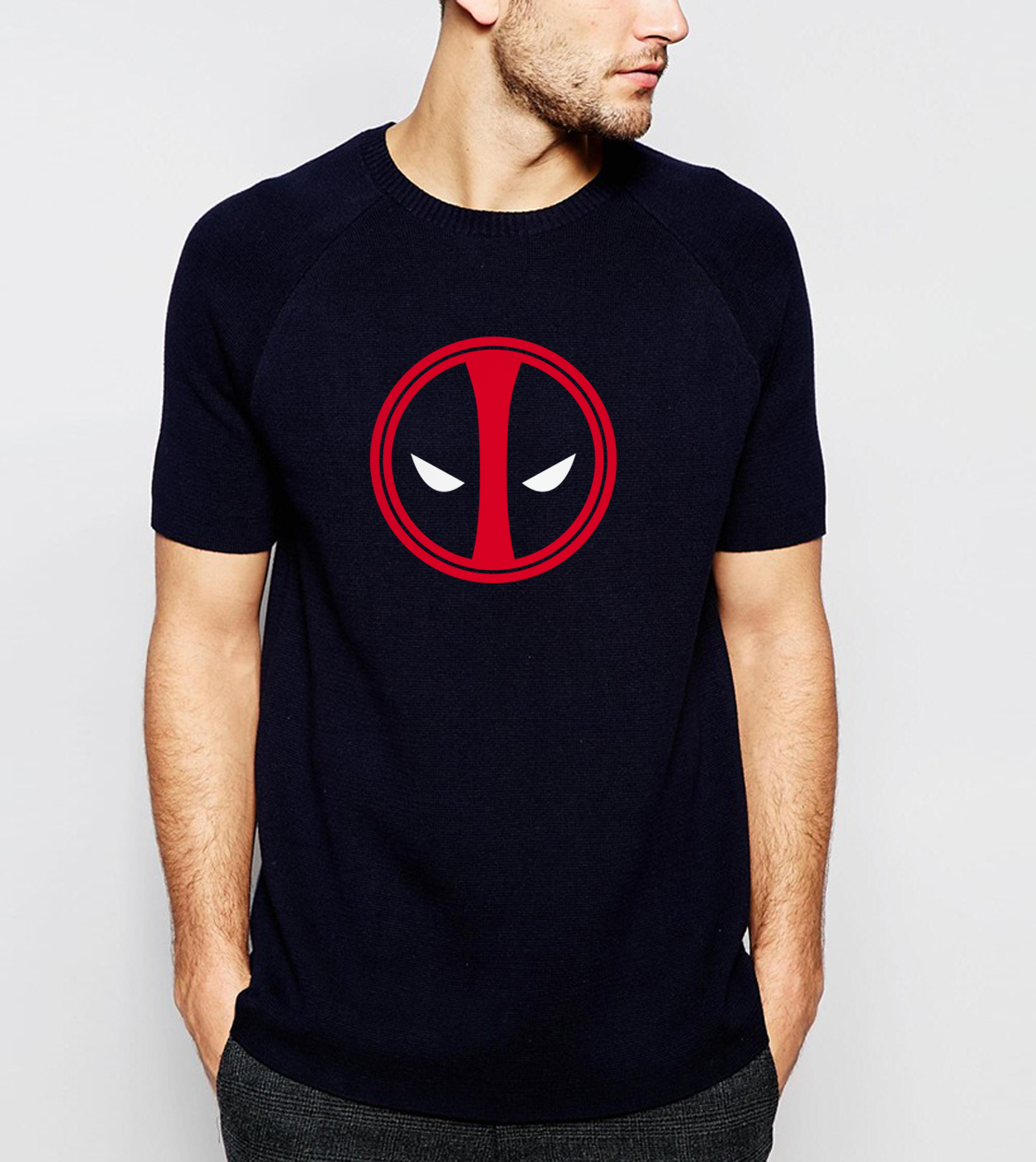 hot sale 2019 Summer X-men Deadpool   T  -  Shirt   100% Cotton Comfortable   T     Shirts   S-3XL Cartoon Top Tees For Fans Camiseta Masculino