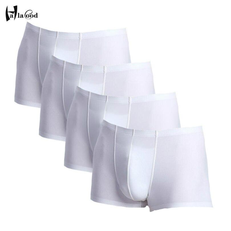 Hot Sell Brand Fashion Sexy Men Boxers Underwear Fiber Silk Boxer Spandex Underwear Shorts Slip Mens Boxer Shorts Manufacturers