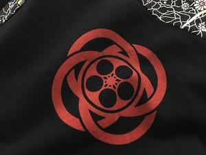 Image 4 - Mens Hip hop motorcycle T Shirts Tattoo Dimensional Printing Cotton Long Sleeved T Shirt Mens Slim Cherry Carp Pattern Tops Tee