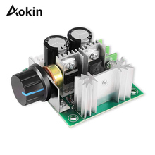 DC Motor Speed 12V 24V 30V 40V 13KHZ Auto PWM DC Regulator Governor Speed Controller Switch 10A 50V 1000uF