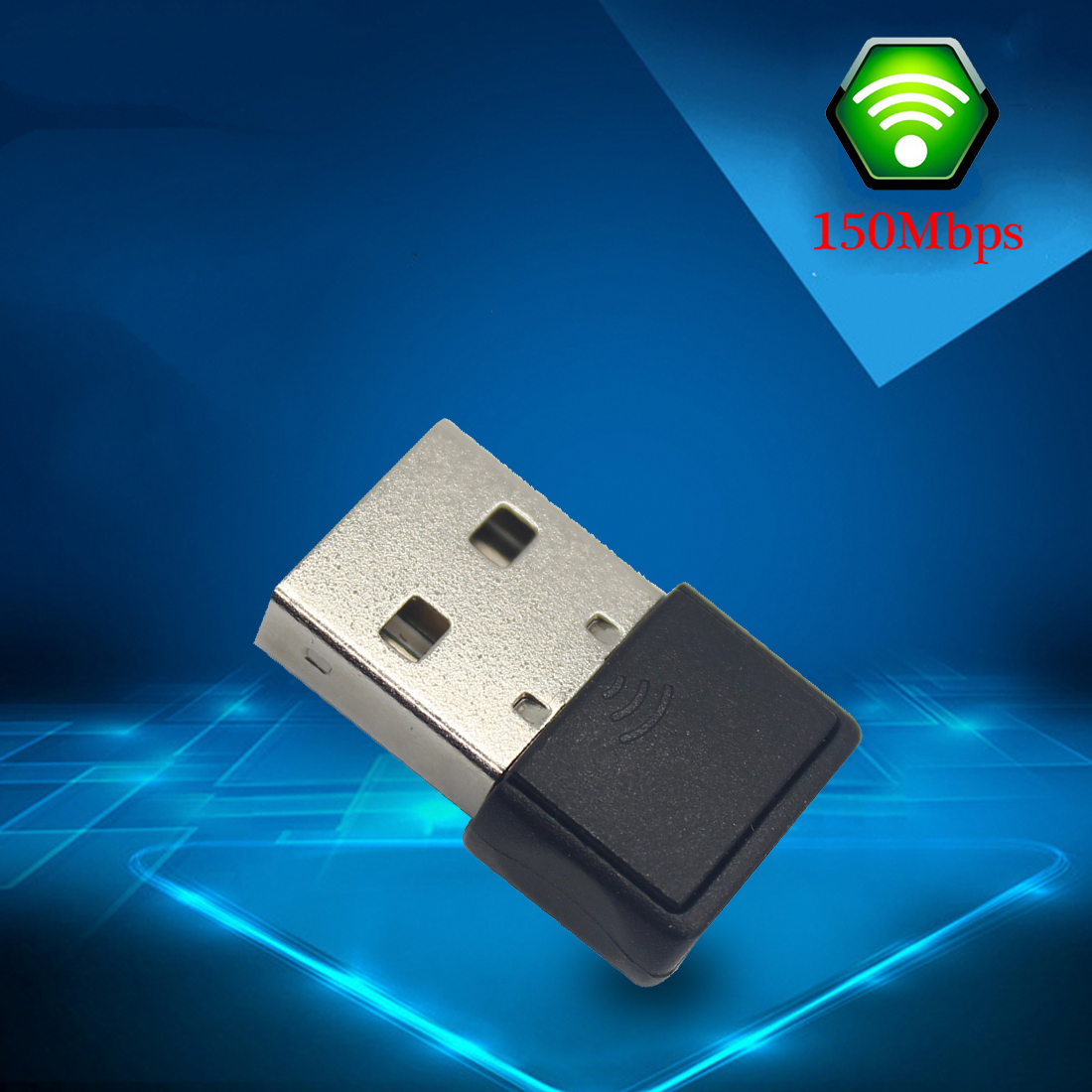 NOYOKERE  WiFi Adapter USB Wireless Dongle Network LAN Card Receiver Mini 802.11N Mobile Laptop
