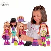 Envío Libre 25 cm Original Mix Simpatyx Chica Resina Figuras de Muñecas Dress Up Prom Night Fashion Girl Doll Regalo Clásico Chica juguete