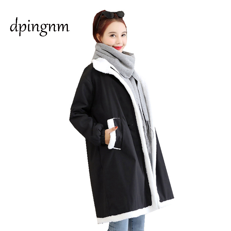 2018 Autumn Long Cotton Women's Coats With Fashion Women Padded Brand Autumn Jacket Parka B27G292D