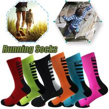 Anti-Slip Breathable Men Summer Running Cotton Socks Football High Quality Women Cycling