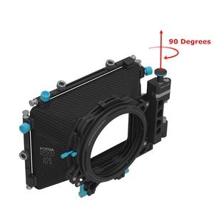 "Image 5 - FOTGA DP500III DSLR נדנדה משם דהוי תיבה + ND1000 4X4 ""זכוכית מסנן עבור 15mm Rig מוט"