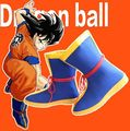 Free Shipping Dragon Ball Z son goku Boots Anime Cosplay Shoes Halloween Party Cos Boots 020803
