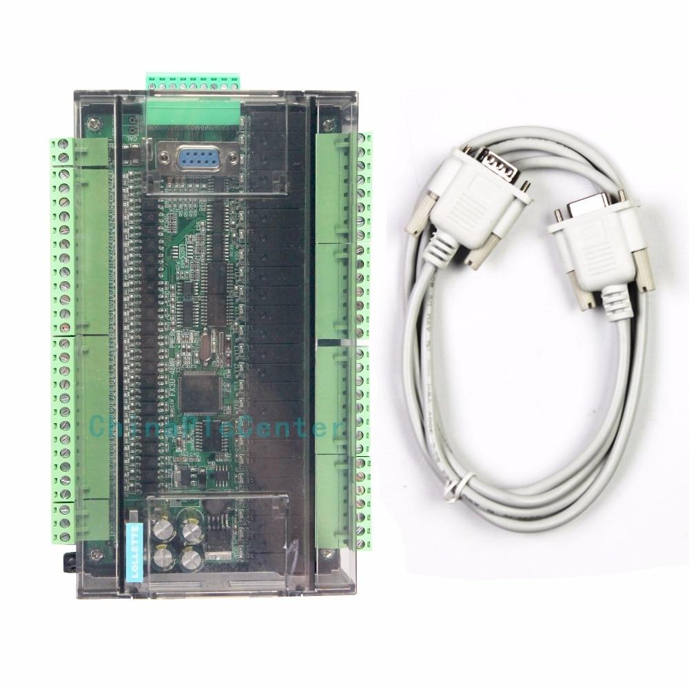 LE3U FX3U 48MR RS485 RTC (real time clock) 24 Input 24 Relay output 6 analog input 2 analog output plc controller
