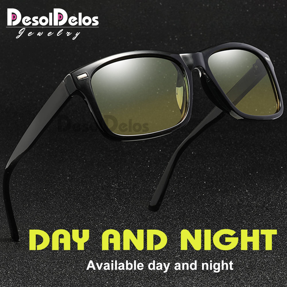 Men Polarized Sunglasses Day Night Women Driver Sun Glasses Top Quality Male Goggles Night Vision Eyewear gafas oculos de sol in Men 39 s Sunglasses from Apparel Accessories