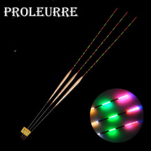 1 Pcs Fishing Float 5 mesh Luminous Fishing Big size Night Vision Colorful Fish Electronic Float