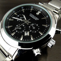 2016 relogio masculino CURREN Luxury Brand Full Stainless Steel Analog Display Date Men's Quartz Watch Business Watch Men Watch
