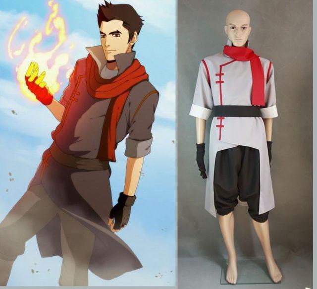 Avatar F3b Version 2: Avatar The Legend Of Korra Mako Cosplay Costume Version 2