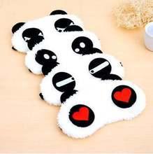 10 шт маска для сна в виде панды