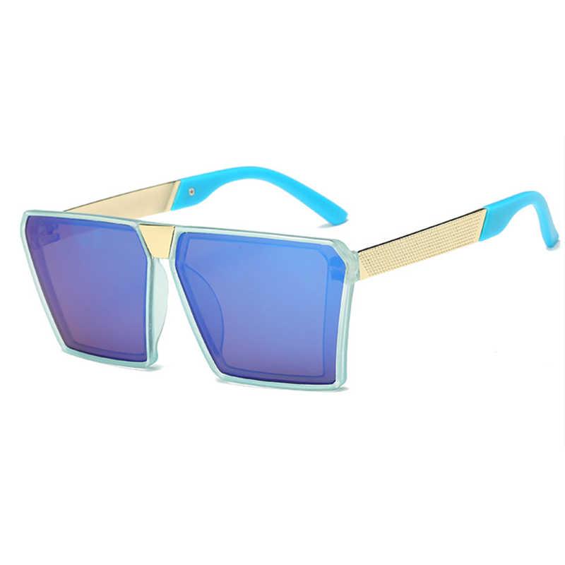 Lunettes de soleil de marque pour enfants | Lunettes de soleil à revêtement UV400, monture de Camouflage, lunettes de soleil adorables pour bébés garçons et filles, 2018