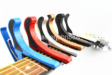 6 Colors Metal Acoustic Electric Guitar Capo Key Clamp Change Clamshell Package