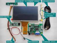 Módulo de pantalla táctil LCD Raspberry Pi 3, 7 pulgadas, 800x480, prioridad de popa, juego de Monitor de pantalla para coche, HDMI, VGA, USB, AV