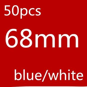50pcs Auto Car Wheel Center Hub caps Rim Caps Covers Logo Badge For BMW 1 3 5 7 X3 X5 M3 M5  F30 F30 E34 F10 F20 car styling