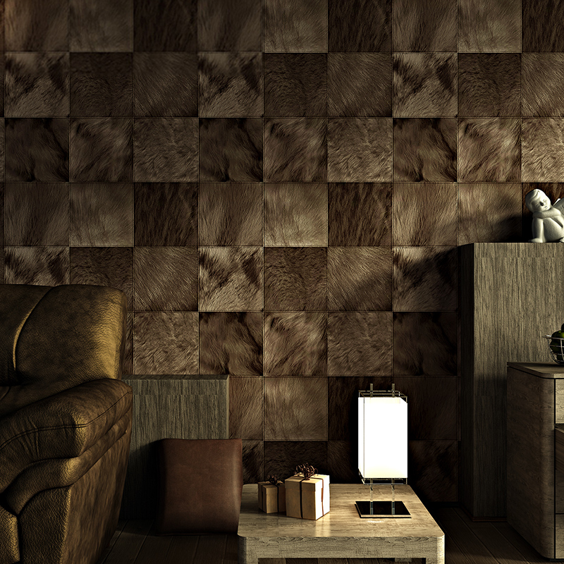 modern personality 3d wallpaper waterproof deep embossed