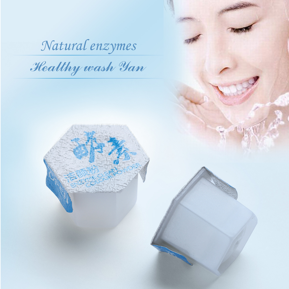 10/20pcs Blackhead Exfoliating Shrink Face Cleansing Enzyme Cleansing Powder Remove Pores Moisturizing Whitening Facial Cleanser