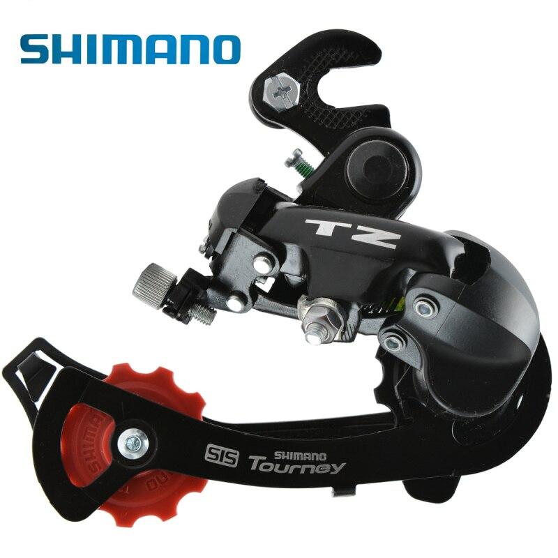 Цена за SHIMANO Турнир RD TZ50 Задний переключатель 6/7 скорость Megarange Совместимость MTB велосипедный задний переключатель Запчасти для велосипеда