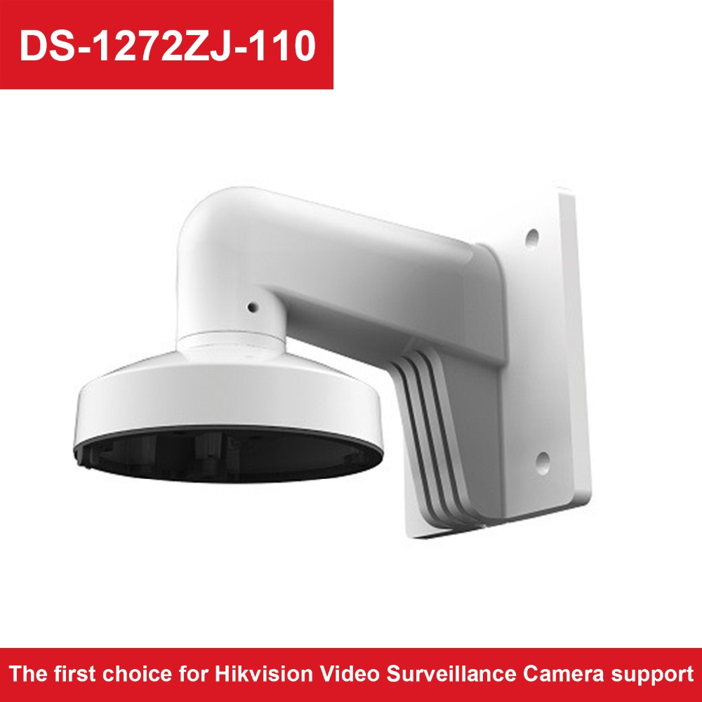 CCTV Camera Support DS-1272ZJ-110 High Quality Aluminum Alloy Wall Mount Bracket For Dome Camera DS-2CD2185FWD-IS