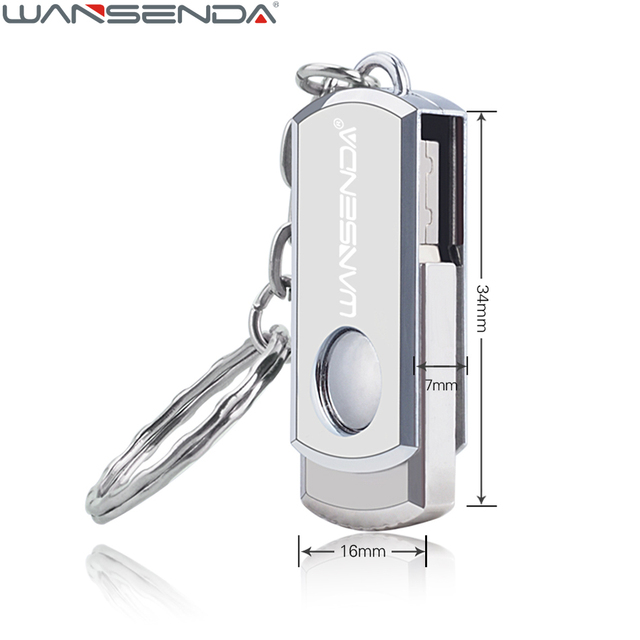 On Sale High Quality Stainless Steel Pen Drive USB Flash Drive 128GB 64GB 32GB 16GB 8GB 4GB Fast Speed Pendrive USB Stick U Disk