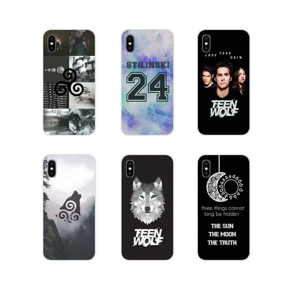 For Huawei P Smart Mate Honor 7A 7C 8C 8X 9 P10 P20 Lite Pro Plus popular TV series Teen Wolf Accessories Phone Cases Covers