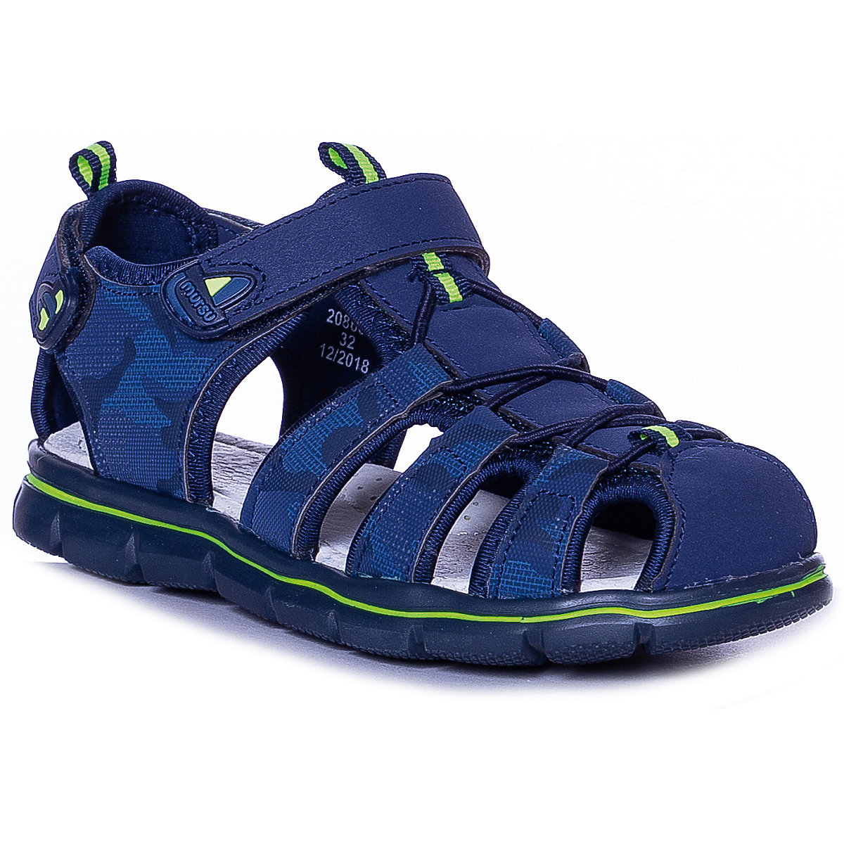MURSU Sandals 10611933 children's shoes comfortable and light girls and boys sandals adidas s74649 sports and entertainment for boys
