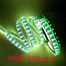 5m /roll Led strip light RGBW RGBWW Double row SMD5050 Flexible light RGB+white/warm white no-waterproof 5M 120leds/m DC24V