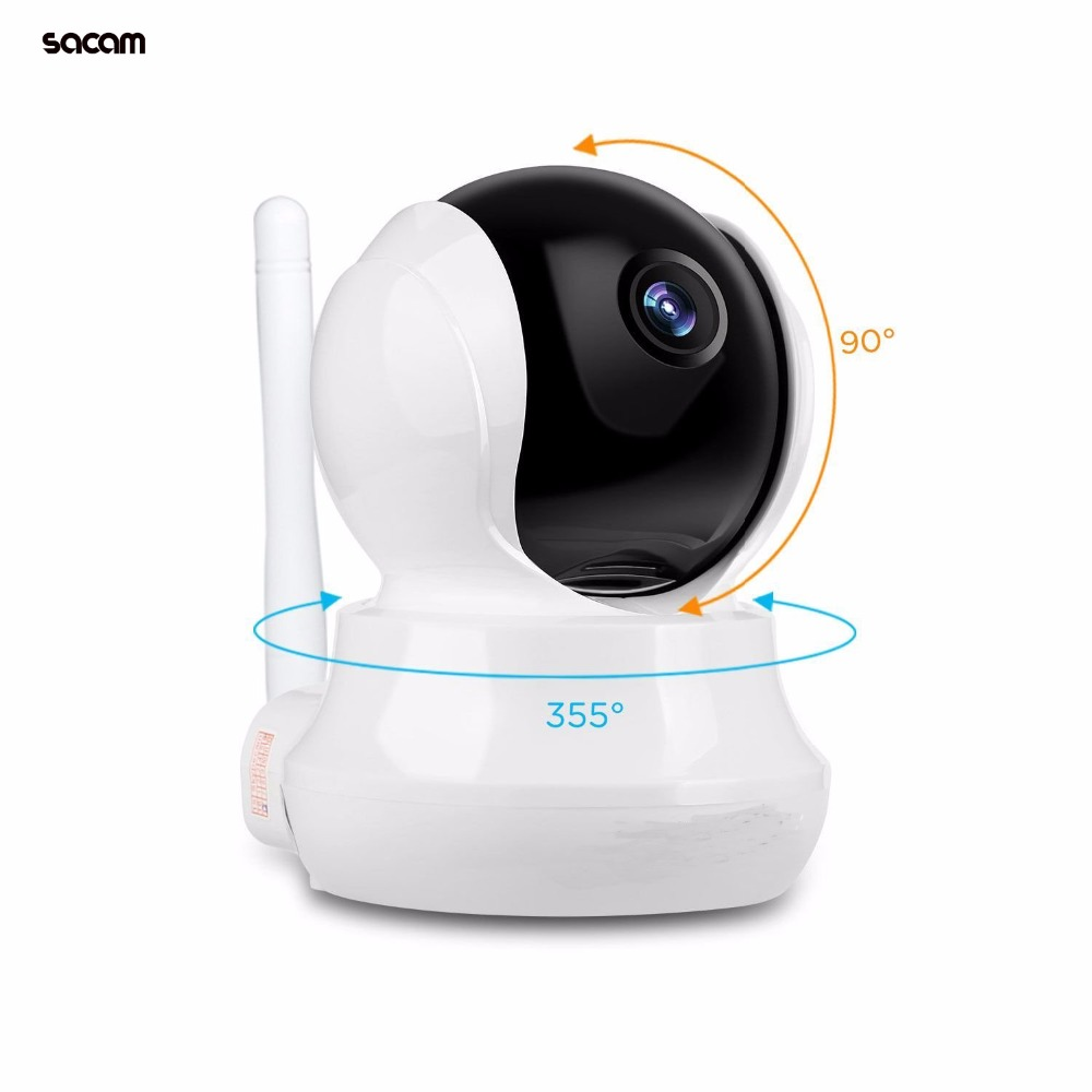 SACAM HD 720P WiFi Camera Wireless IP Network Video Surveillance Baby Monitor Night Vision Motion Detection Home Alarm Security sacam wifi outdoor camera wireless ip camera surveillance cctv cam for home security waterproof ir night vision motion alarm