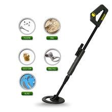 Waterproof Underground Metal Detector Treasure Hunter Gold TS20A for Kids Children's Day Gift High Sensitivity Adjustable Shaft