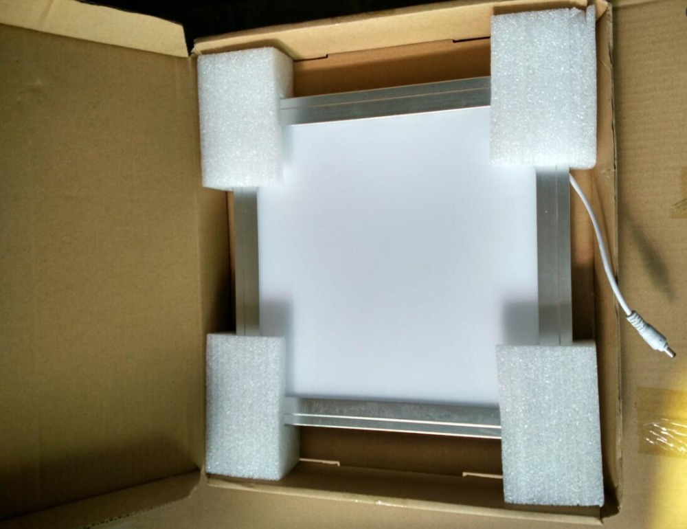 Emergência 300x300mm LEVOU luz do painel de