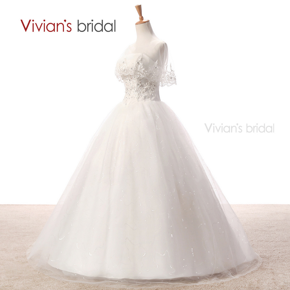 Vivian der Braut Country Western Spitze Brautkleider Ballkleid ...