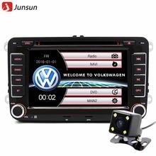 """7 """"2 din Coche reproductor de DVD de radio del GPS para Volkswagen VW golf 5 6 passat B6 touran sharan jetta polo tiguan con envío regalo"""