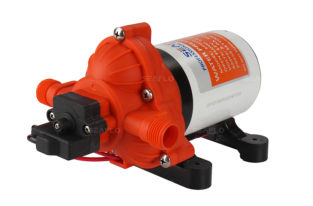 SEAFLO 24V RV Water Pump 45PSI 10 6 LPM Electric Self priming Pumps for Water Boat