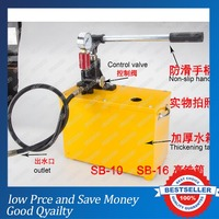 SB 10/15/25/30/40 Manual Water Pipe Leak Detector Pipeline Pressure Test pump
