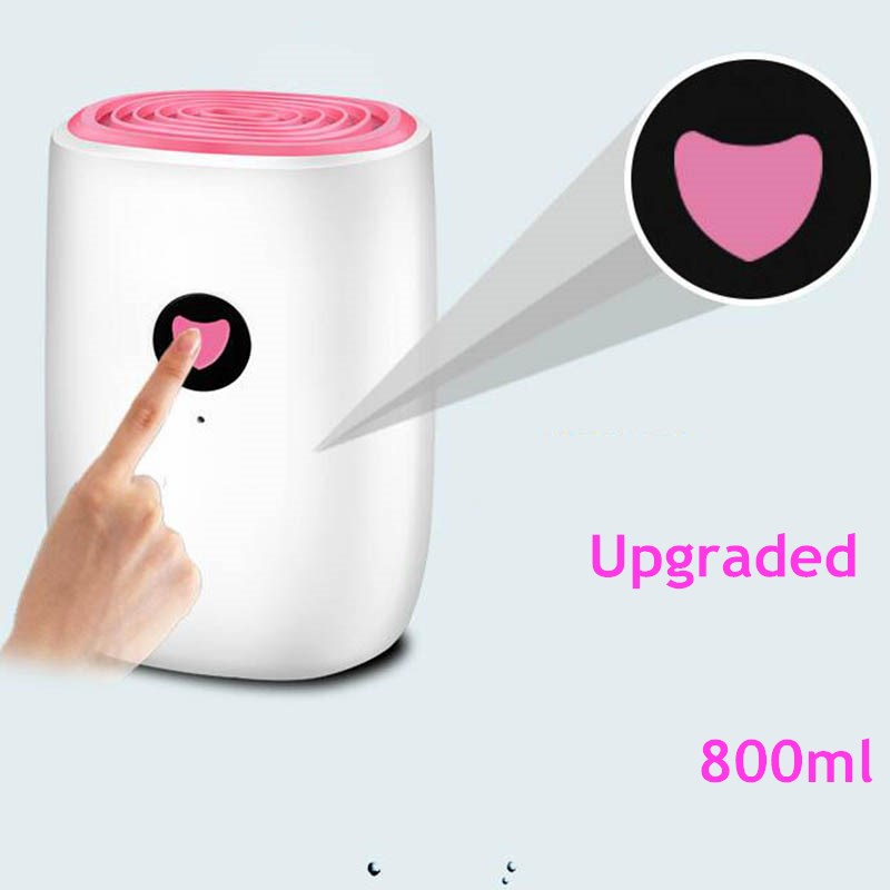 GXZ 800ml Mini Dehumidifier For Home Upgraded 25W Dehumidification Machine Air Dryer Clothes Dryers Moisture Absorber gxz 500ml mini dehumidifier for home dehumidifiers air dryer 25w ultra quiet clothes dryers purple moisture absorbent