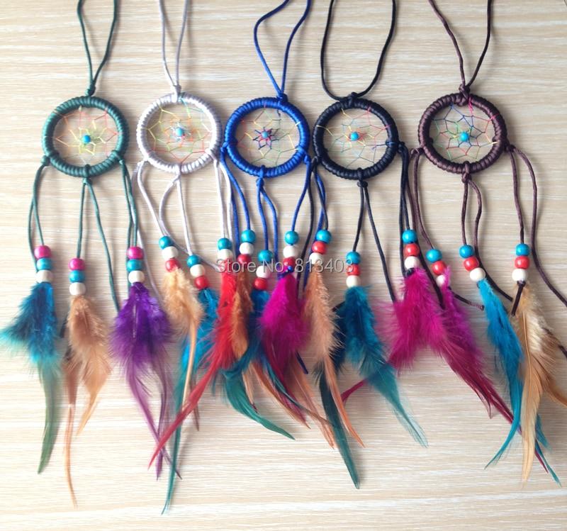 Dream Catcher Whosale Dream Catcher Feather Decor Feather - Ev dekoru - Fotoqrafiya 2