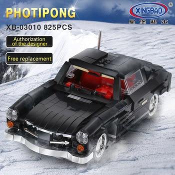 IN STOCK XINGBAO 03010 825Pcs Creative MOC Technic Series The Photpong Car Set Education Building Blocks Bricks Toys Model