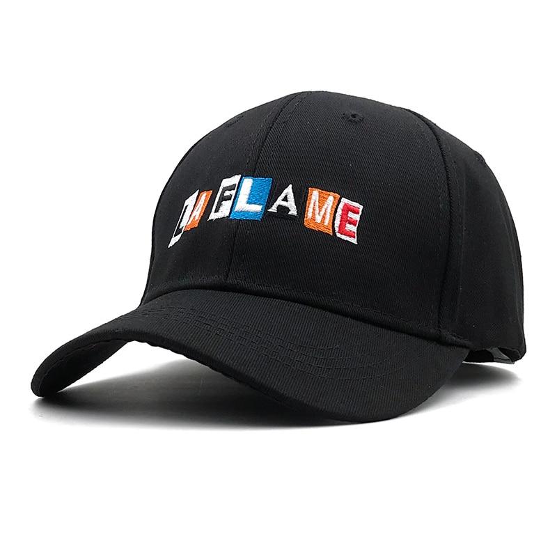 2018 nuevo Hip Hop Rap gorra de béisbol ajustable para hombres y mujeres gorra de algodón gorra de golf