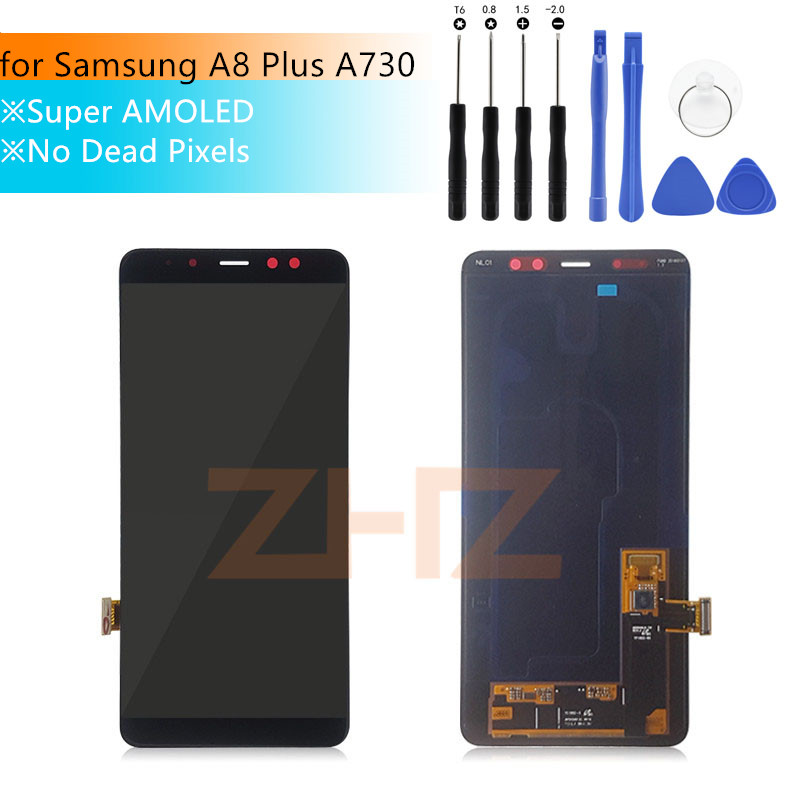 Screen For Samsung Galaxy A8 Plus a730f/ds LCD 2018 Touch Screen Digitizer Assembly display for Samsung a730 A730F Repair PartsScreen For Samsung Galaxy A8 Plus a730f/ds LCD 2018 Touch Screen Digitizer Assembly display for Samsung a730 A730F Repair Parts